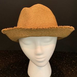Tommy Bahama Accessories - Tommy Bahama Paper Braid Fedora in Toast
